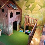 "Kid's area now a ""secret garden""."