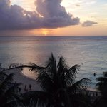 Sunset over Playa Norte