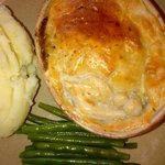 Tap & Spile steak n ale pie !!!! Yummiest