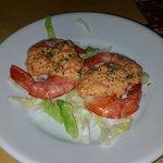 Code di gambero con salsa di peperoni