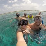 Snorkeling stop on Klein Bonaire