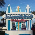 Photo that I personally took of the new Jax Beach sign!