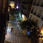 Вид с балкона)
