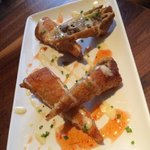 Cheesesteak egg rolls!  Incredible.