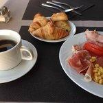 おいしい朝食でした