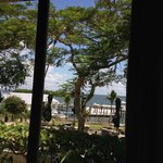 view from table in restaurant…lovely