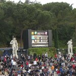 Internazionali d'Italia (cancha auxiliar - tribunas)