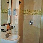 Room 201 bathroom