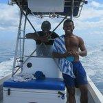 Levi & Johnny taking us snorkeling