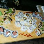West Philly, Rochester, The Panda, and California rolls. Super yummy!