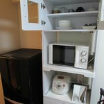 Dapur beserta peralatannya yang lengkap