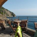 リグリア湾を望むロケーション