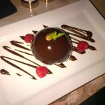 Chocolate Coconut Dome... Delightful!