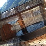 Open Air Bath in Room
