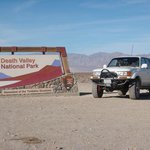 Death Valley Sign.