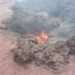 Hot vent Demonstration. Timanfayer National Park