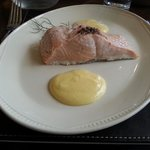 Well prepared and delectable salmon