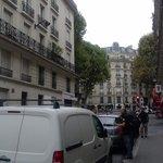 strada fuori l albergo