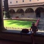 cool peaceful courtyard