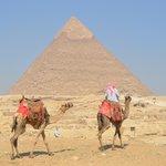 Cairo and the pyramids