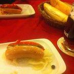 """Резанное пиво и блюдо под названием """"Утопленник"""""""