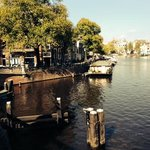 vista di uno dei canali Amsterdam