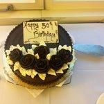 Fab 50th Birthday Cake