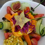 a very colourful salad indeed.