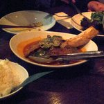 Red curry of coconut-braised beef rib...