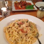 Yummy creamy seafood pasta !
