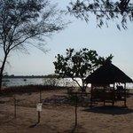 plage de l'hôtel de dédiée au repos