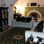 Sala de estar do Hotel