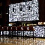 Lobby bar at night, beautiful