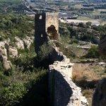 Walls of Mornas castle