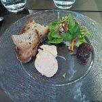 foie gras et compotée d'oignon