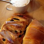 Great pastries and coffee
