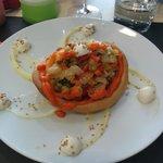 timbal de verduras