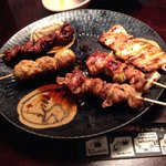 Charcoal fire grilled chicken Masaya Sakurashinmachi