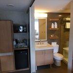Badkamer met schuifdeuren