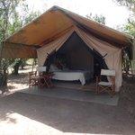 Nkoromobo tent