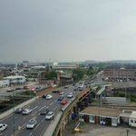 Overlooking forest and notts county ground