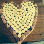 Made this with all my corks from Glades Pike love it there...