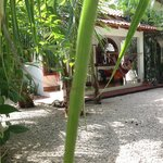 One of the casitas, photo taken from the garden
