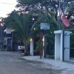 Entrance to Villas Boheme Chic