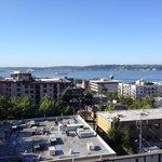 Elliott Bay from rooftop deck