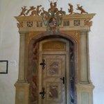 Hazentoren deur