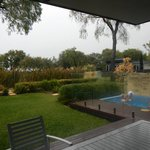 Bayview ground, with plunge pool