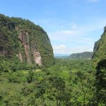 Entrance to the Harau Valley