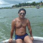 Travessia de barco, na volta da Ilha