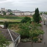 View from 3rd floor. Saumur Chateau